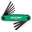 Park Tool TWS2 Folding Torx Multi Tool Set