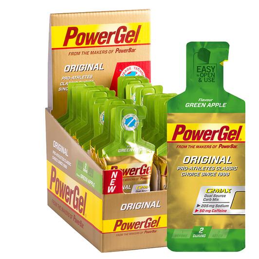 PowerBar PowerGel Original Caffeine Energy Gel Box of 24 x 41g | Sigma Sport