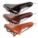 Brooks Swallow Leather Saddle With Titanium Rails