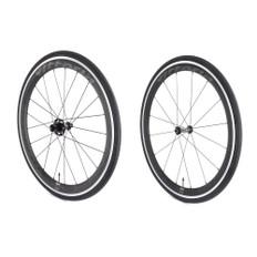 Vittoria Fraxion Hybrid Aero Carbon/Alloy Clincher Wheelset