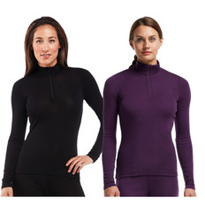 Icebreaker Everyday Half Zip Long Sleeve Womens Base Layer