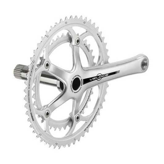 Campagnolo Veloce Silver 10s Power Torque Chainset 53/39