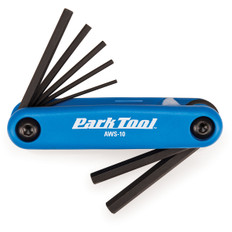 Park Tool AWS10 Folding Hex Set