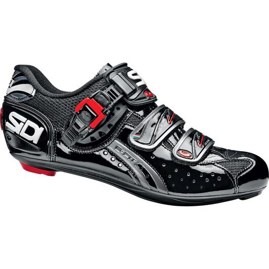 Sidi Genius  Fit Carbon Road Shoes Black Size