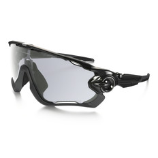 Oakley Jawbreaker Clear Black Iridium Photochromic Sunglasses