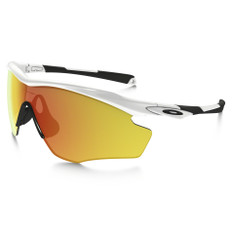 Oakley M2 XL Fire Iridium Sunglasses