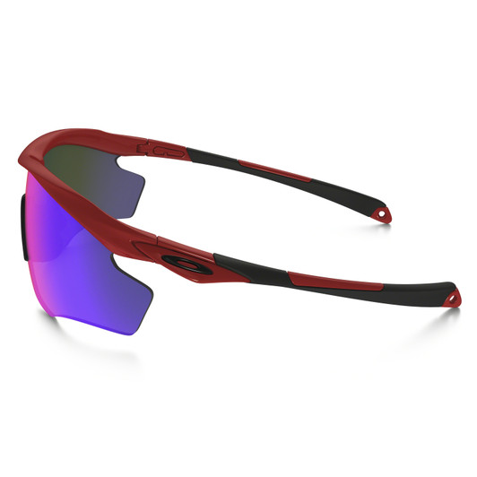 Oakley M2 XL Positive Fire Iridium Sunglasses