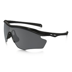 Oakley M2 XL Black Iridium Polarized Sunglasses