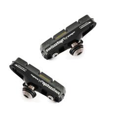 SwissStop Flash Pro Black Prince Brake Shoe/Pad Set For Carbon Rims
