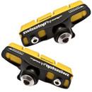 SwissStop FlashPro Shoes/Pads Yellow King (Carbon Rims) Shimano